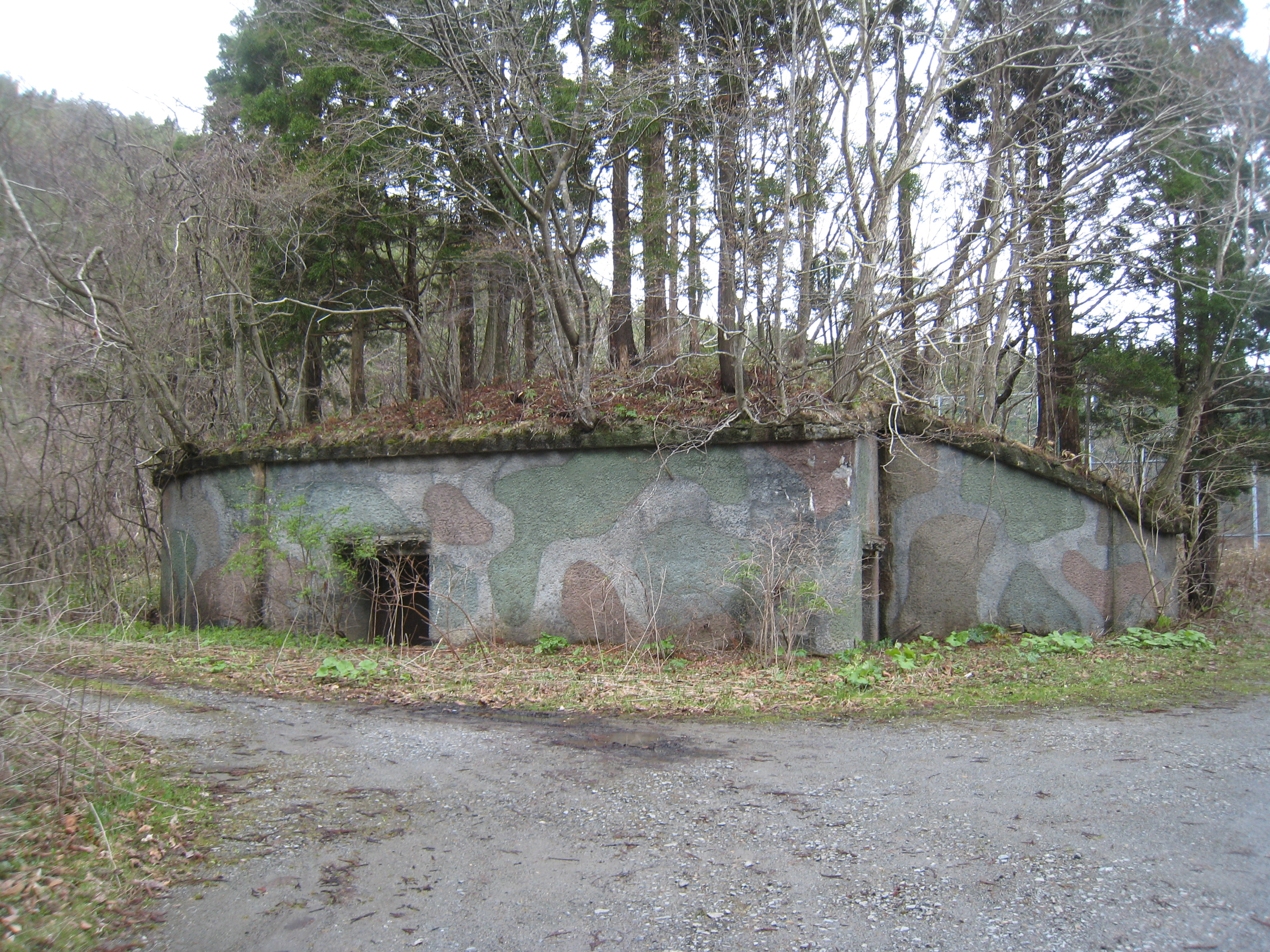 津軽要塞 ― 汐首岬第一砲台: 遊 ...